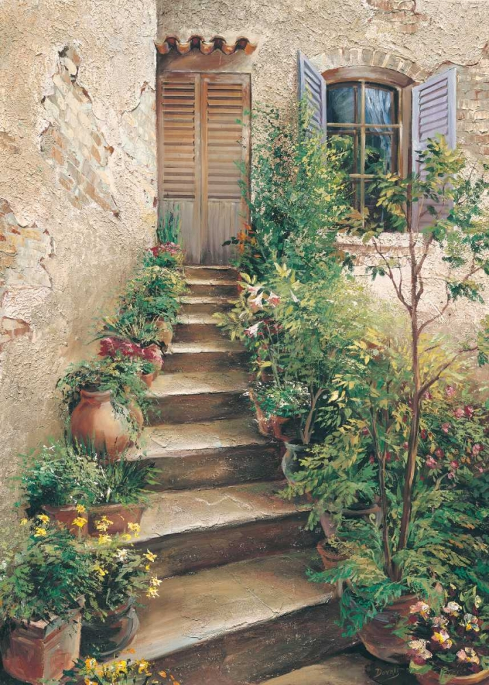 Stairway in Provence Duvall, Roger 20827