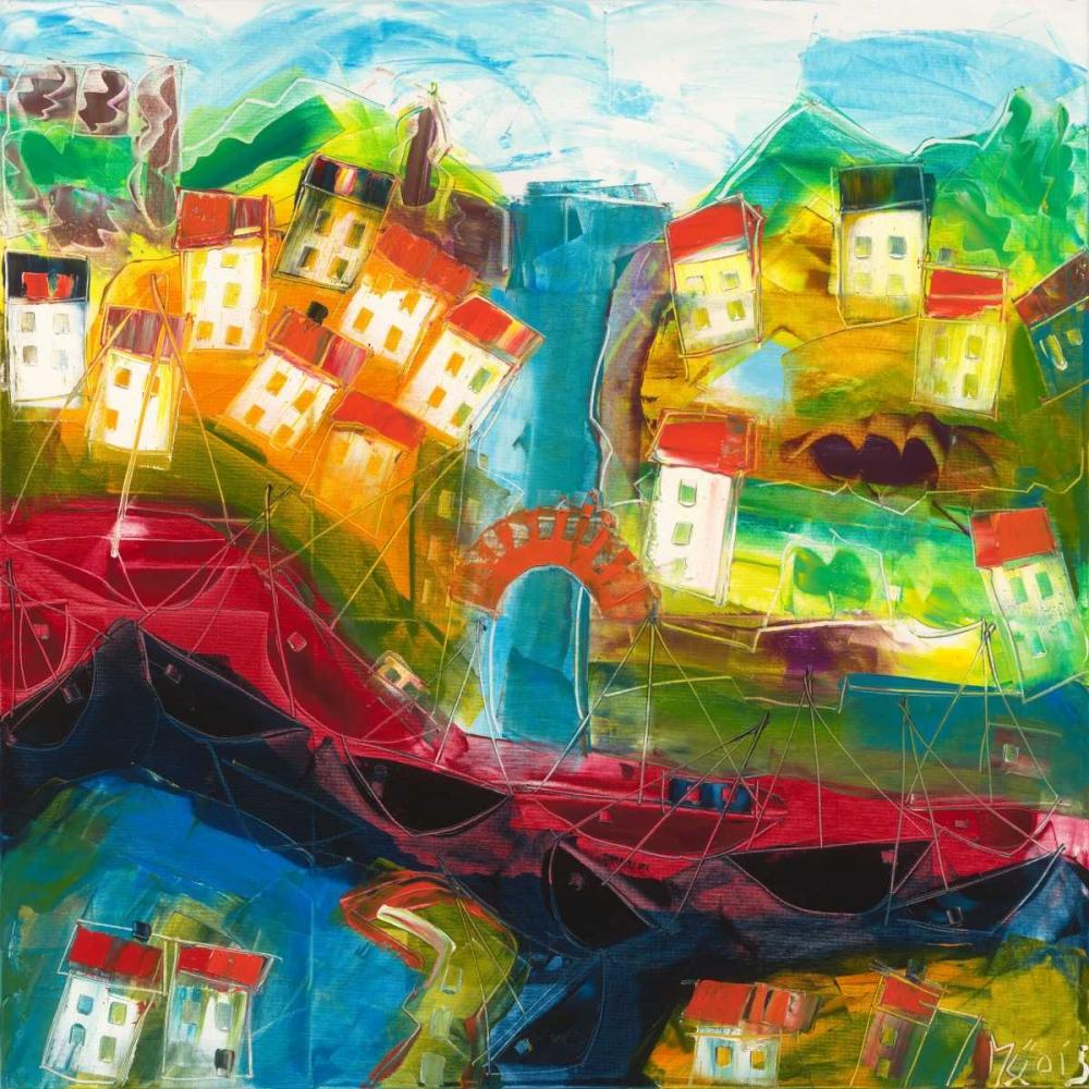 Abstract landscape VI Muller,Max 78449