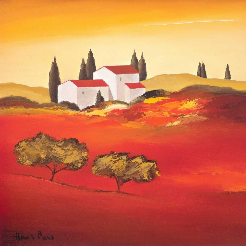 Tuscan red VI Paus, Hans 73294