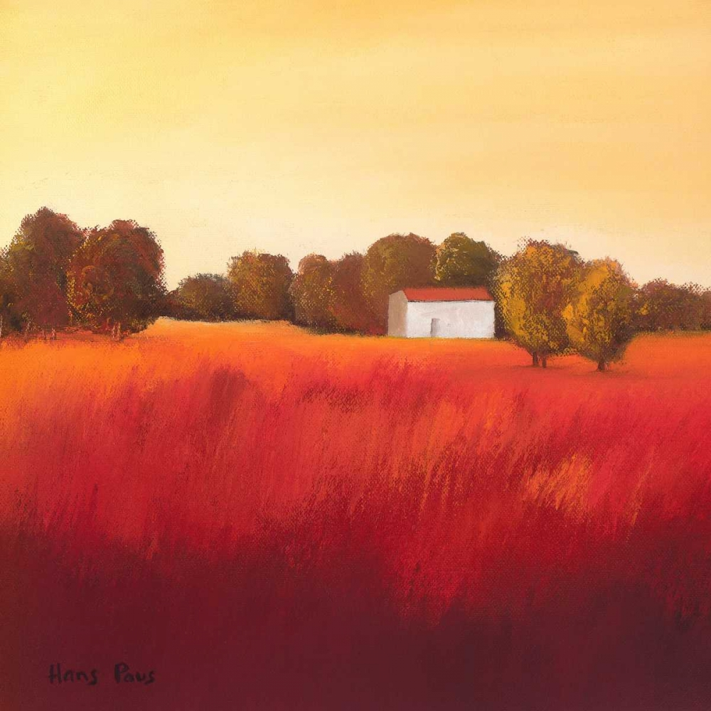 Scarlet Landscape II Paus, Hans 73295