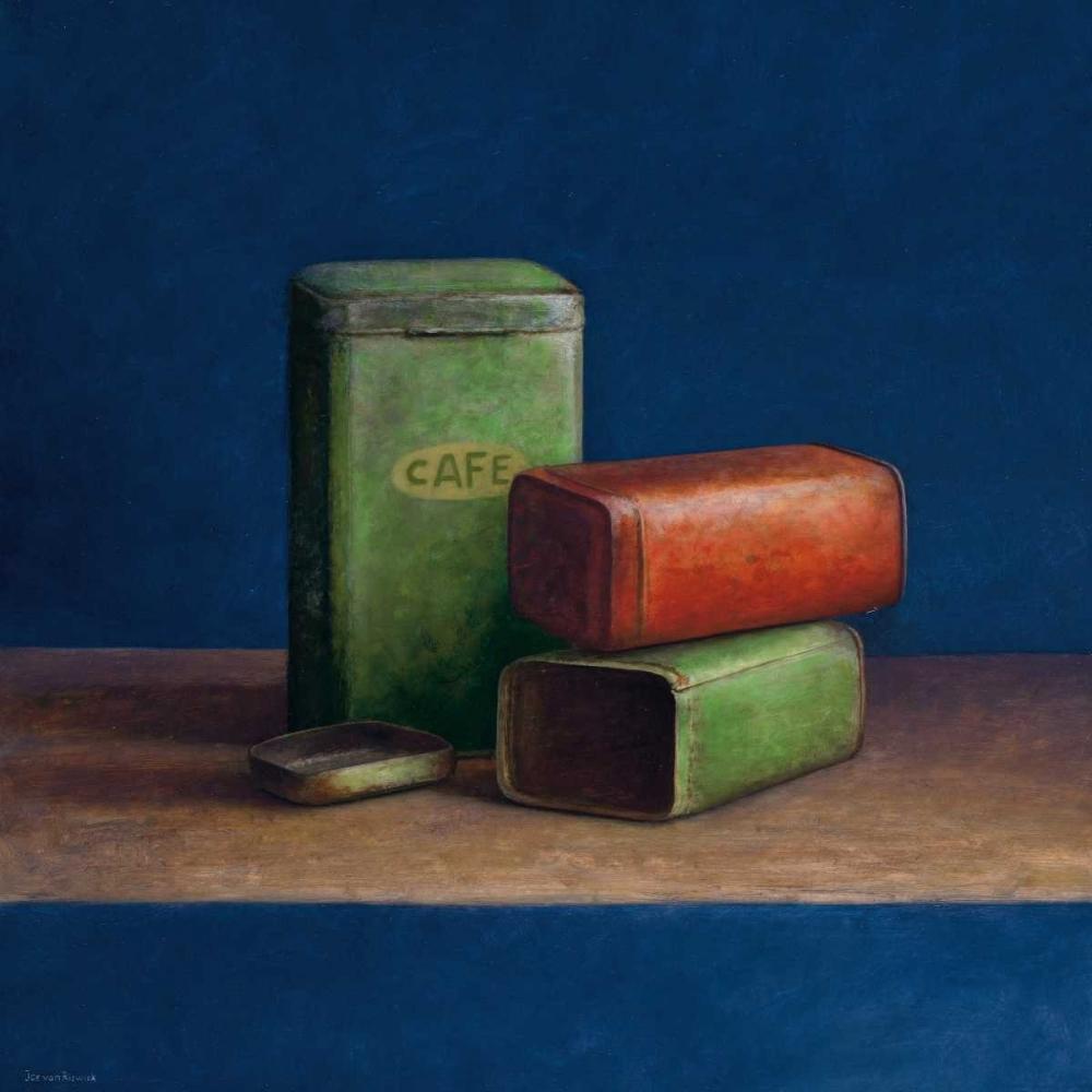 Tin boxes II van Riswick, Jos 19248
