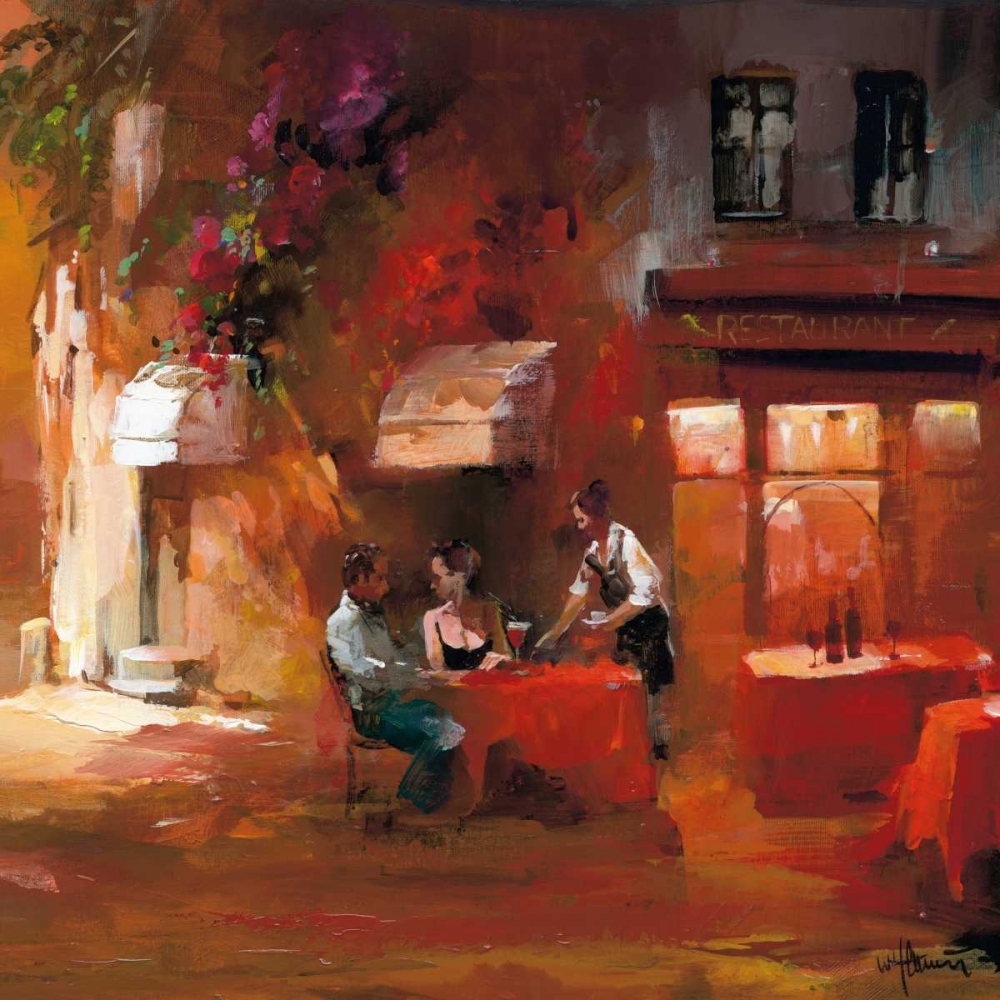 Dinner for two III Haenraets, Willem 19311