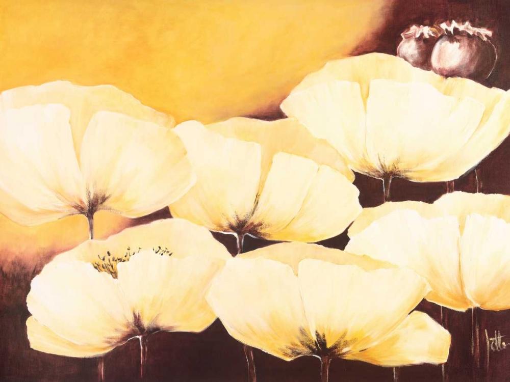 Yellow Poppies II Roseboom, Jettie 19377