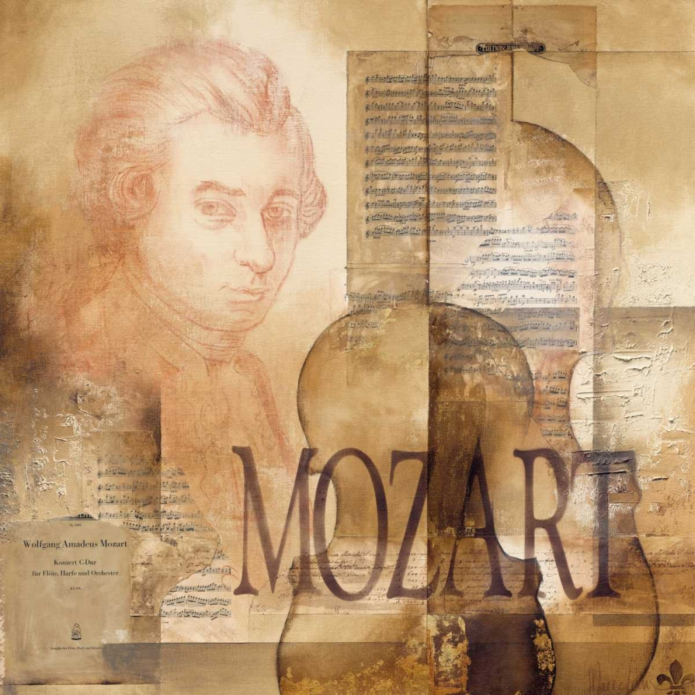 A tribute to Mozart Oudkerk, Marie-Louise 19408