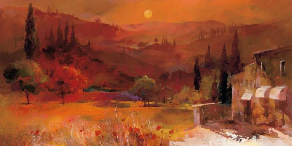 Romantic Tuscany II Haenraets, Willem 19499