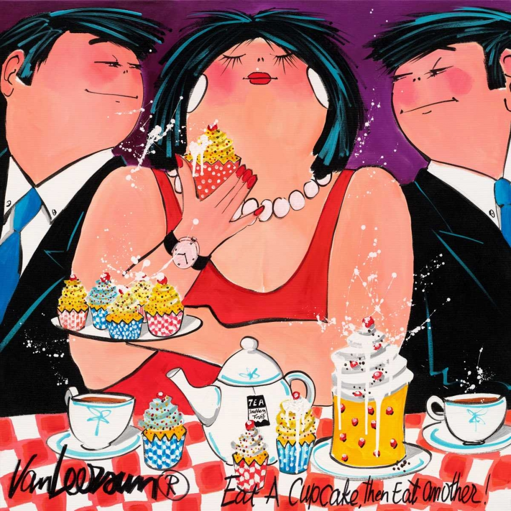 Eat a cupcake van Leersum, El 19542