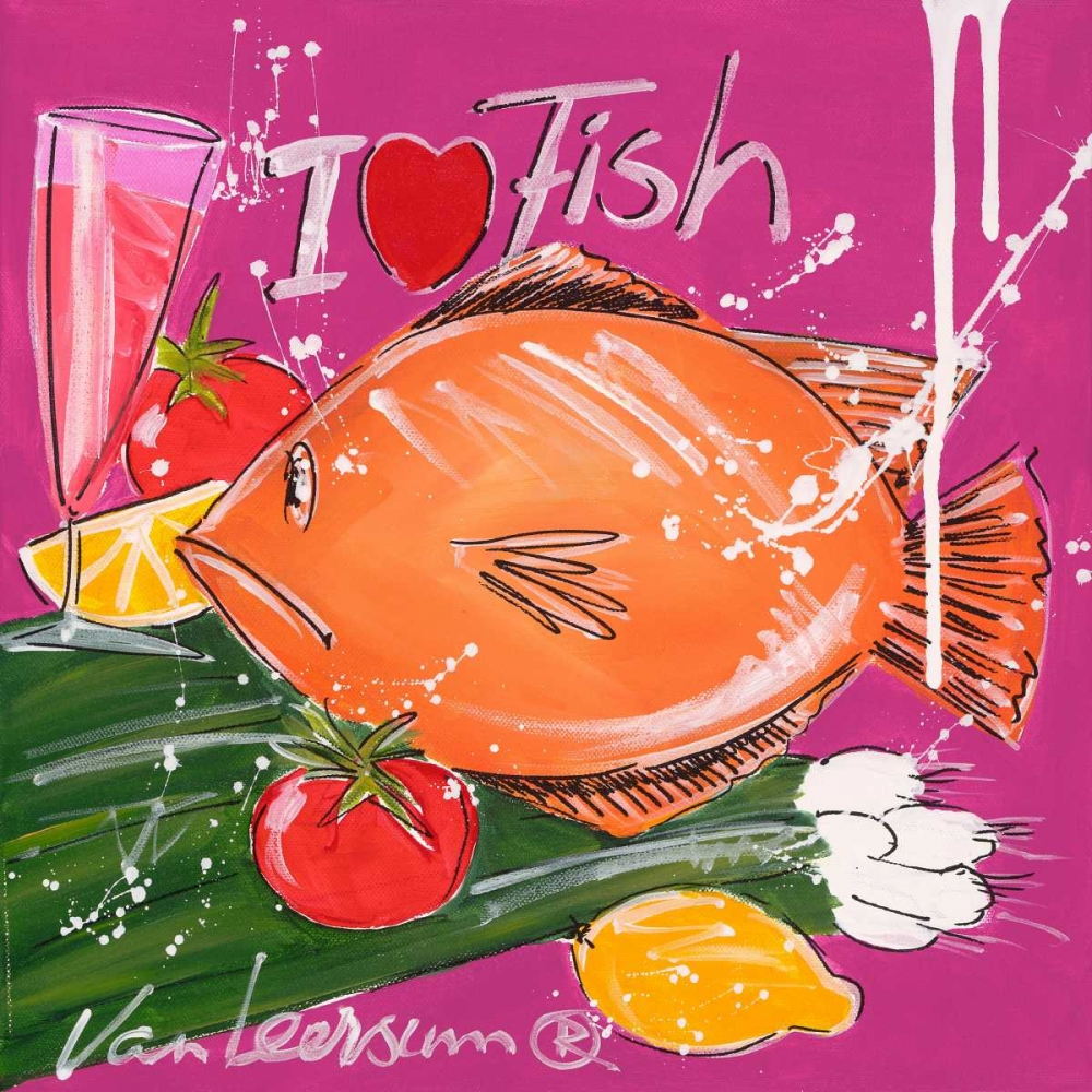 I love fish van Leersum, El 19563