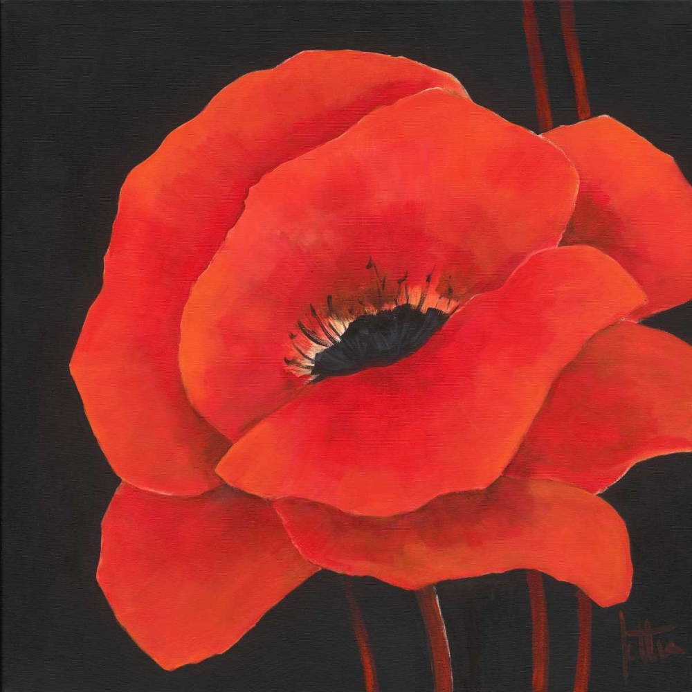 Simple red I Roseboom, Jettie 19582