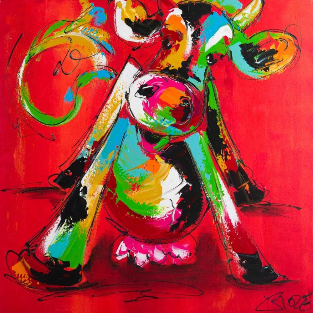 Disco cow II Fiore, Art 166030