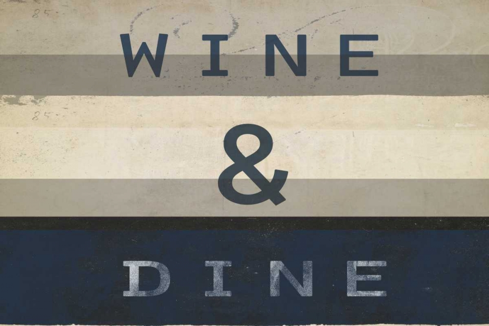 Wine and dine I Waltz, Anne 166158