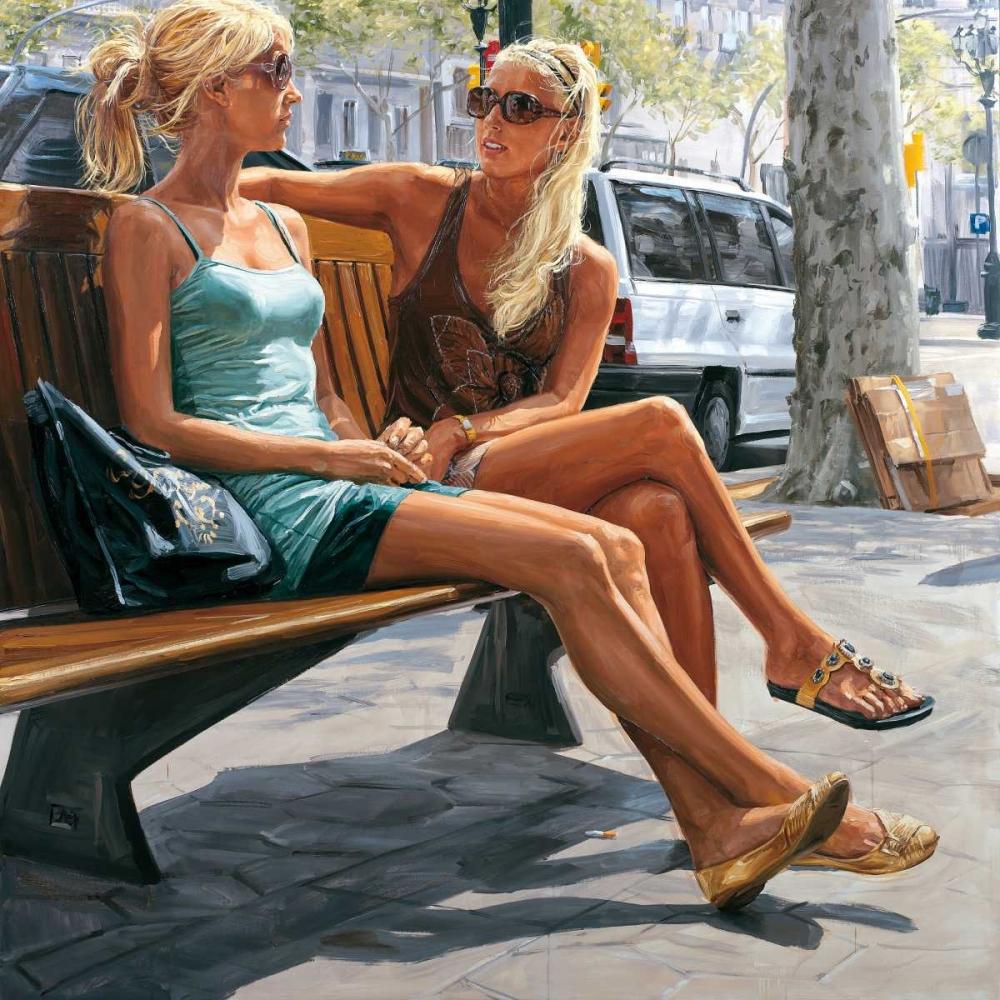 Two blondes Del Campo, Michele 87833