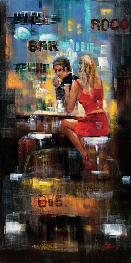 Bar Scene III Madjid 28997