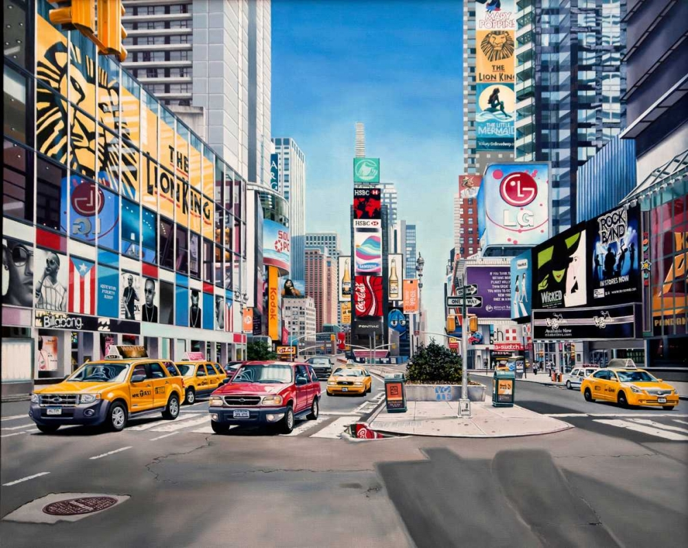 Time Square Reflections Schuh, Michael 81355