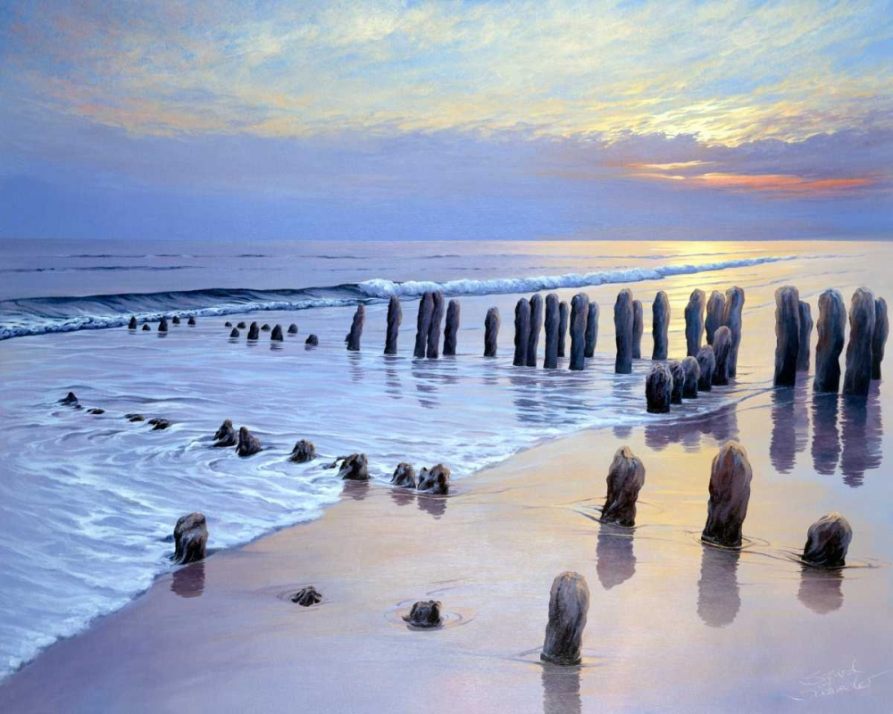 Sunset at Ostsee coast I Schneider, Sigur 87881