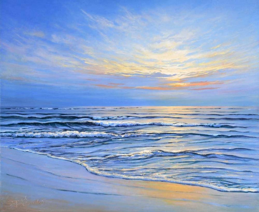 Sunset at Ostsee coast II Schneider, Sigur 87884