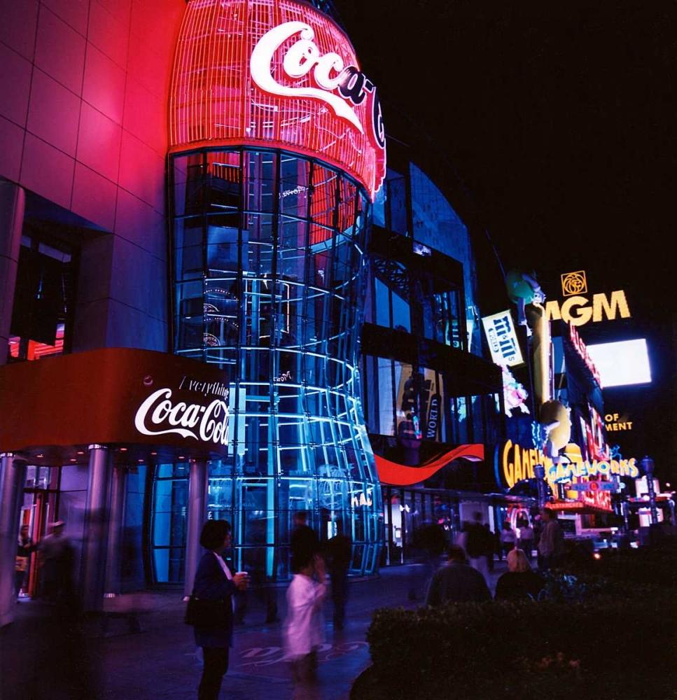 Vegas Neon Stalowy, John 27873
