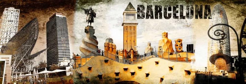 Barcelona Collage 02 Adamsky 28760