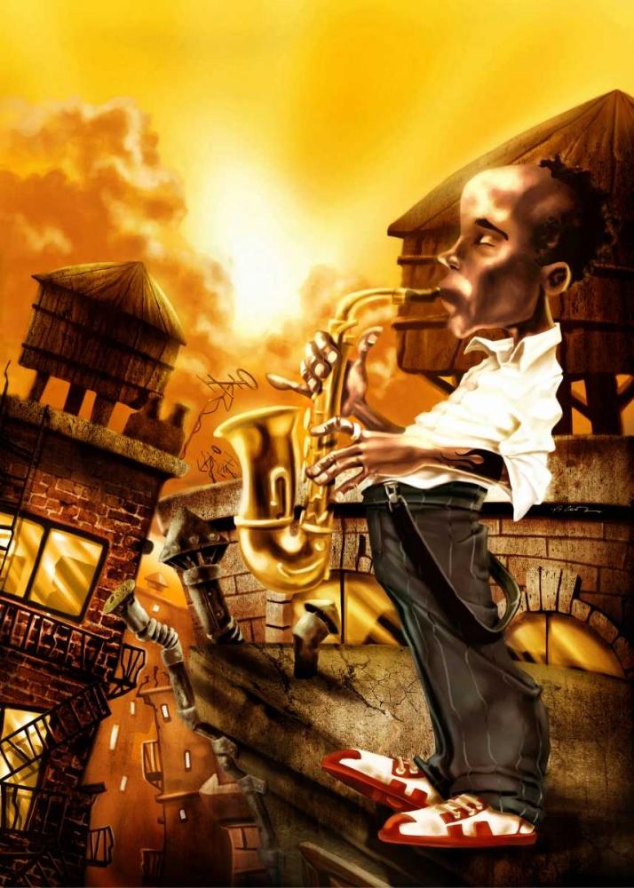 The Saxophonist -1 Alvez, A. - Perez, A. 28716