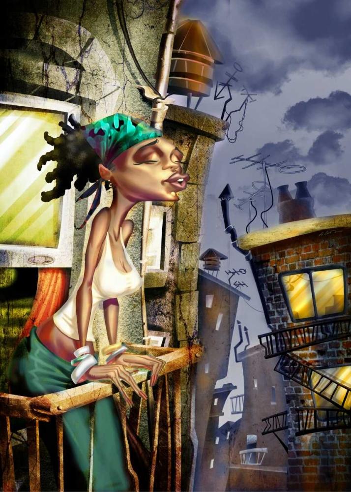 Girl on the Balcony -2 Alvez, A. - Perez, A. 28717