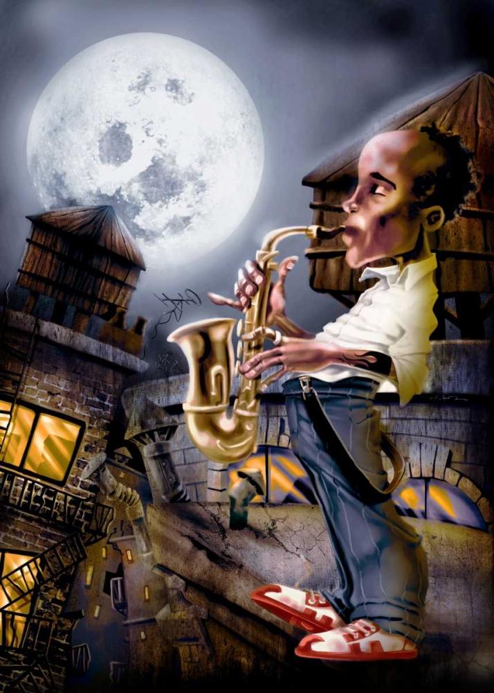 The Saxophonist -2 Alvez, A. - Perez, A. 28718