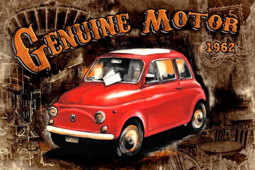 Car Genuine Motor Black Sola, Bresso 28775