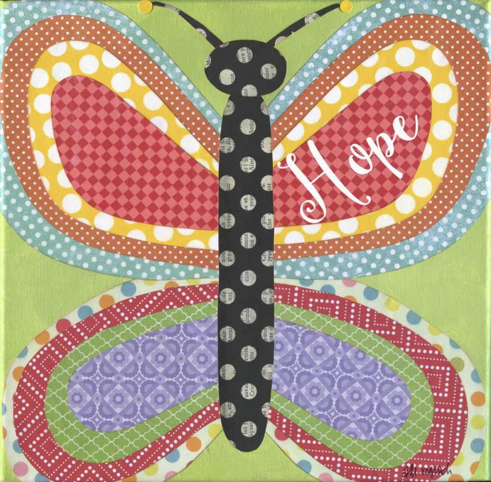 Butterfly with Words Rogosich, Alli 80772