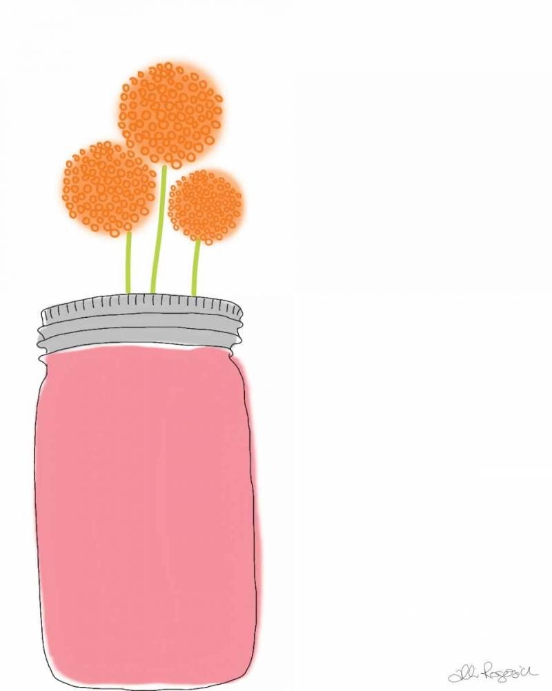 Orange Flowers Rogosich, Alli 156387