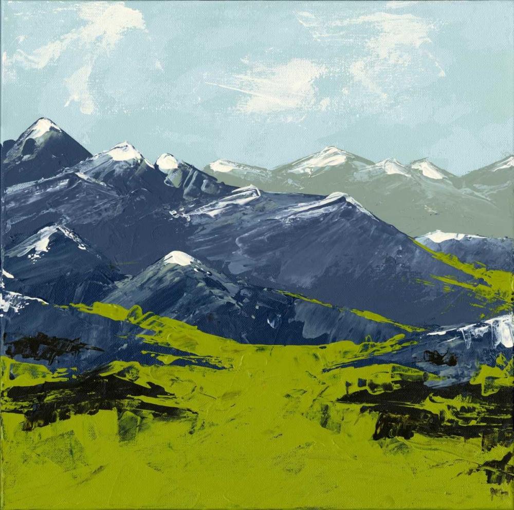 Abstract Landscape II Berninger, Amber 119661
