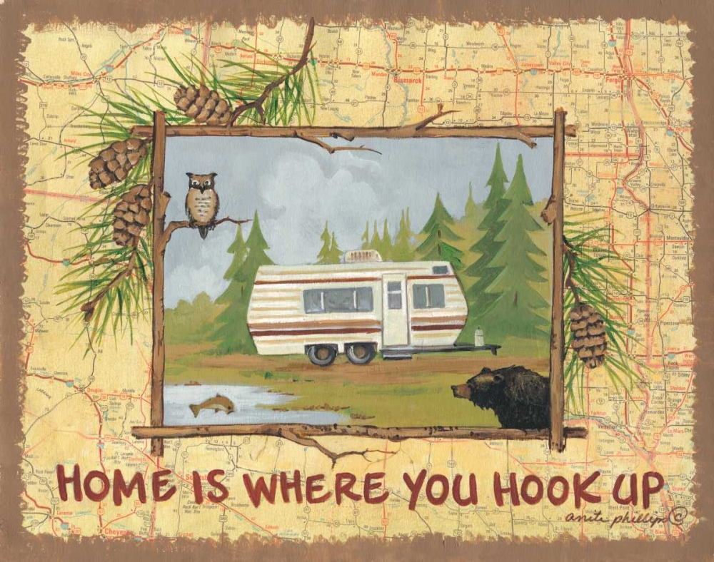 Home is Where You Hook Up Phillips, Anita 44378