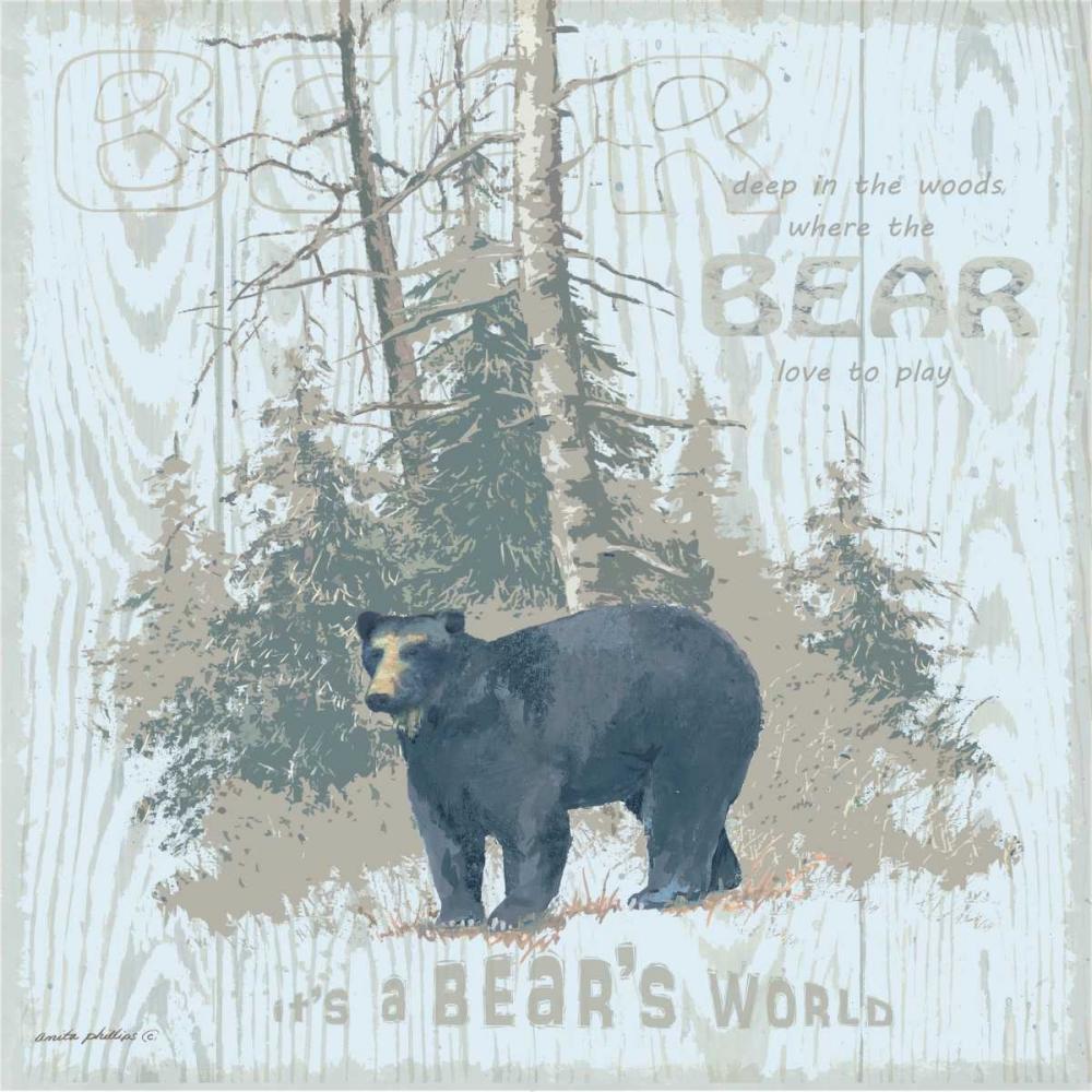 Bears World Tan Phillips, Anita 48224