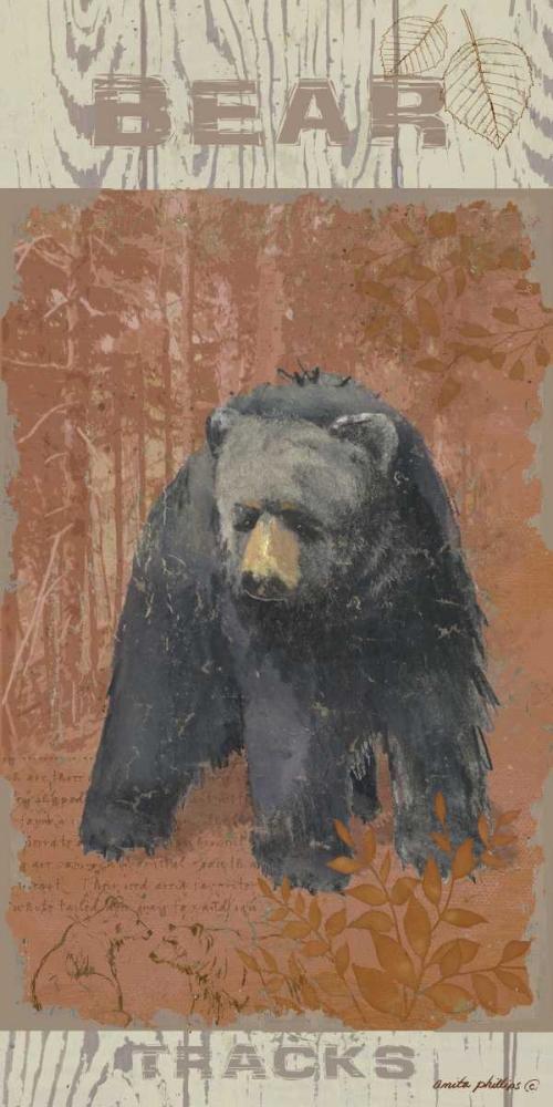 Bear Tracks Phillips, Anita 48236