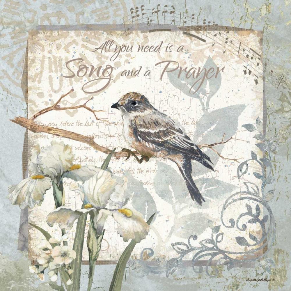 A Song and a Prayer - Border Phillips, Anita 62010