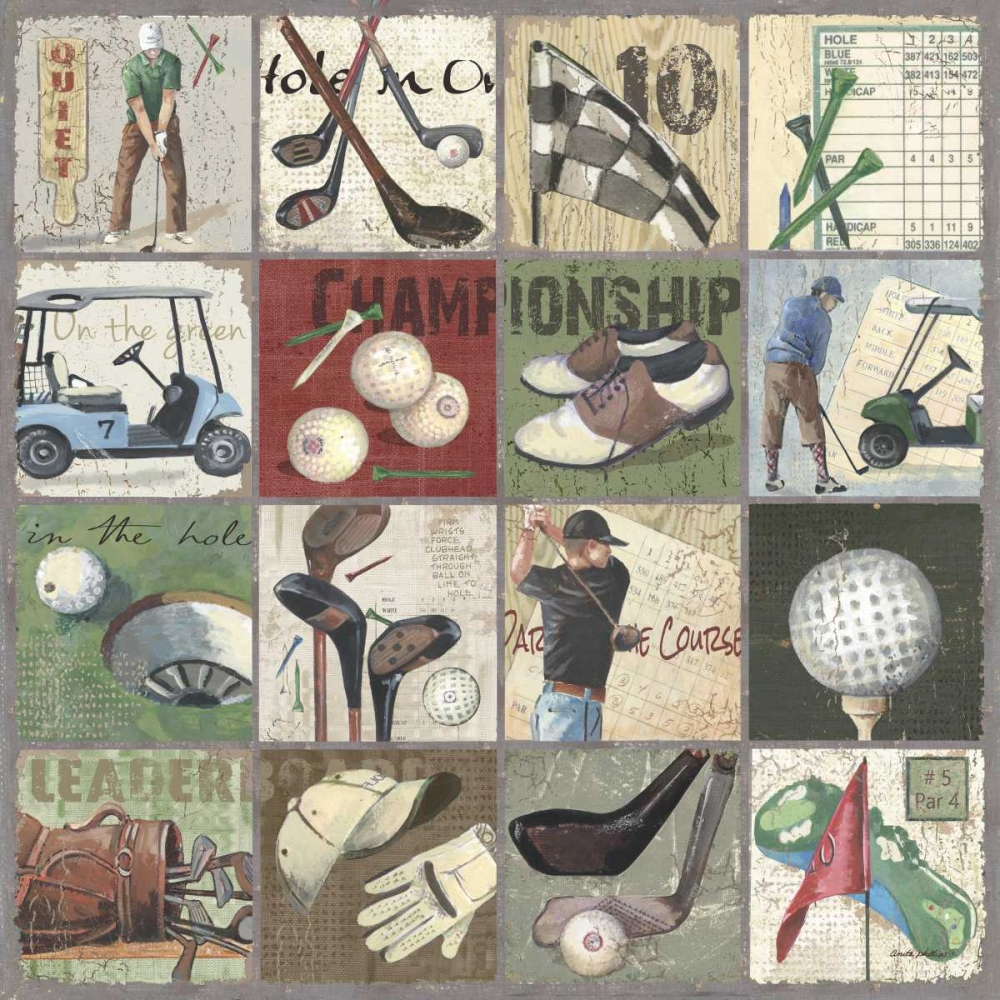 Golf Sampler I Phillips, Anita 63021