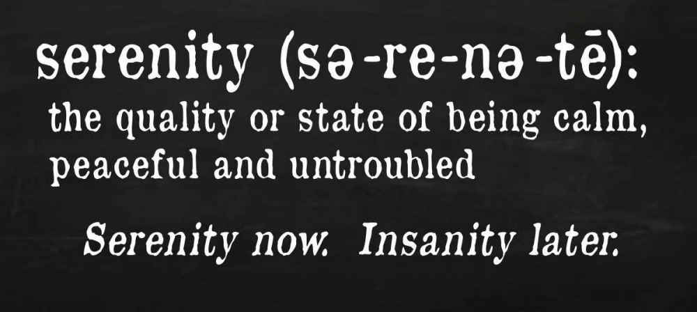 Serenity Definition Quach, Anna 41245