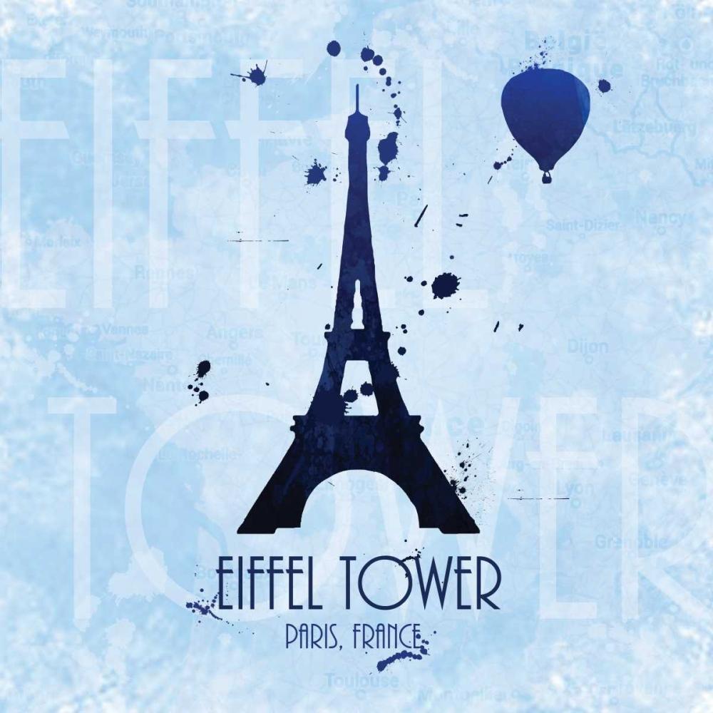 Eiffel Tower on Blue Quach, Anna 55808