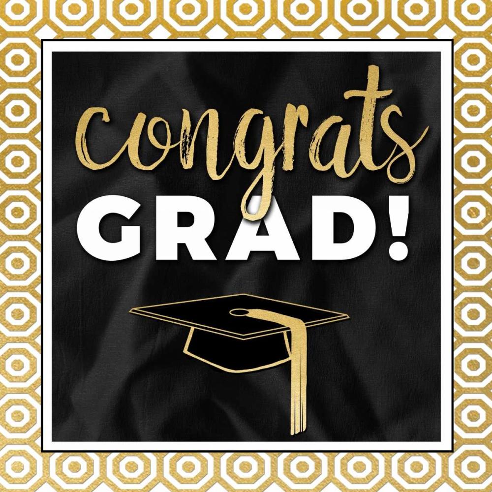 Congrats Grad! In Gold Perrenoud, Aubree 118285