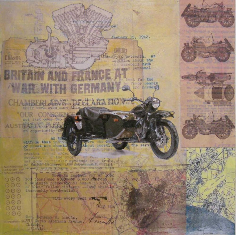 WWII Motorcycle Sullivan, Andrew 83069