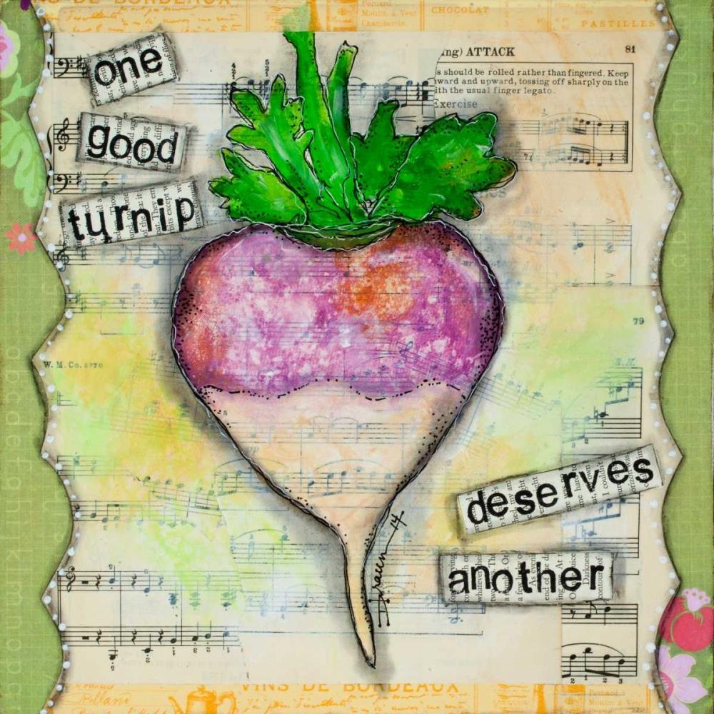 One Good Turnip Braun, Denise 44478