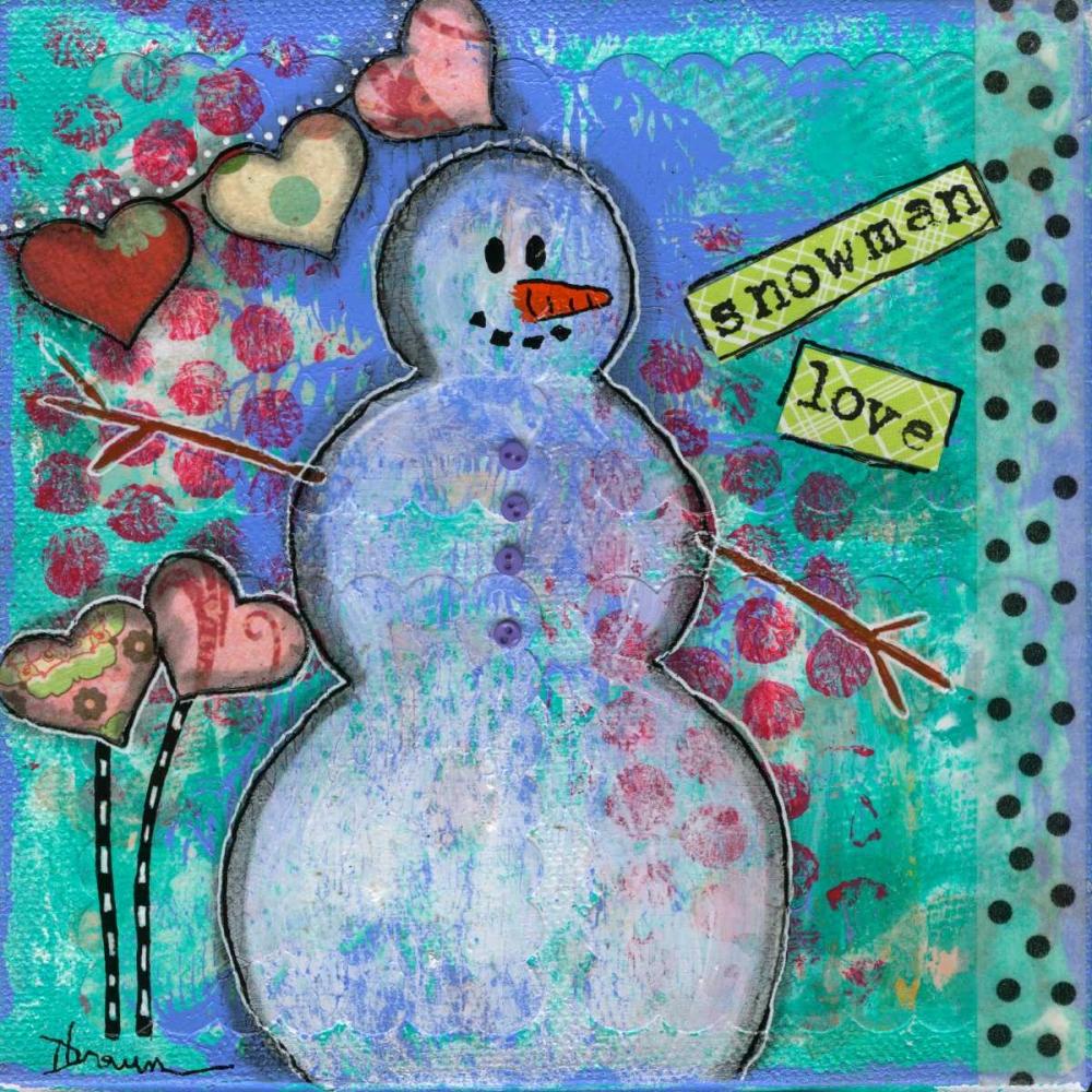Snowman Love Braun, Denise 48373