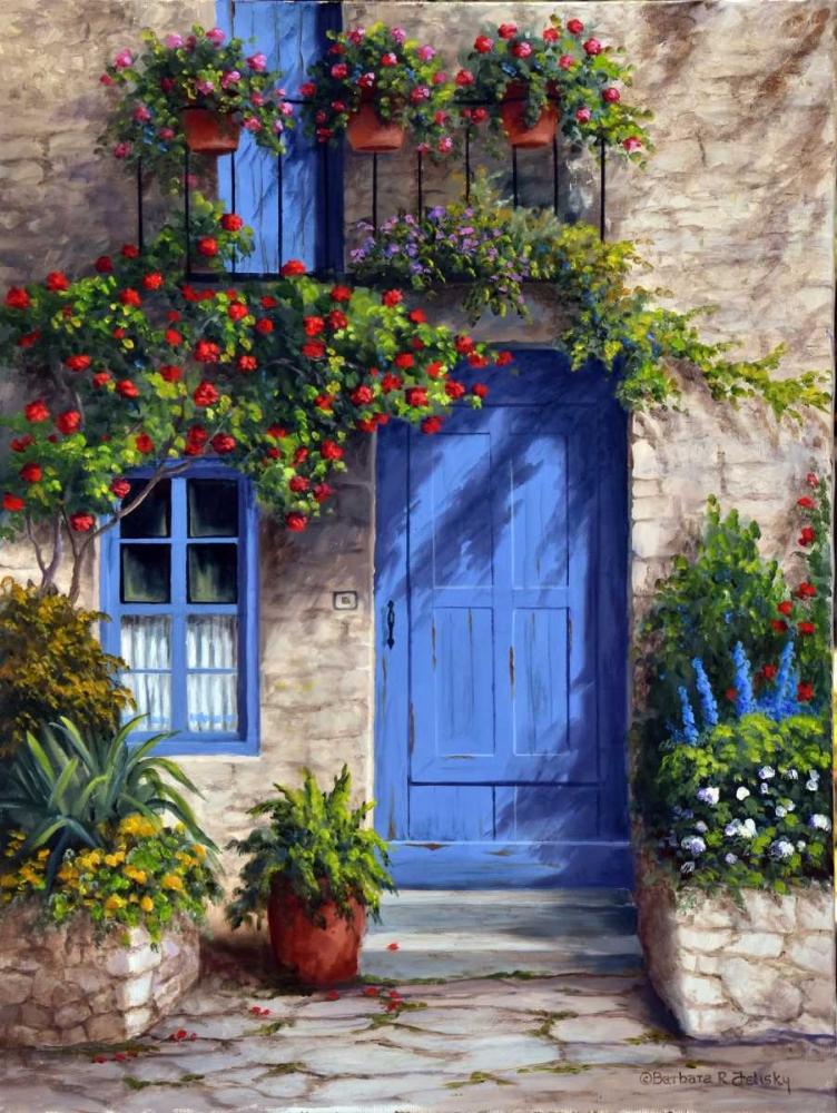 Provence Blue Door Felisky, Barbara 140792