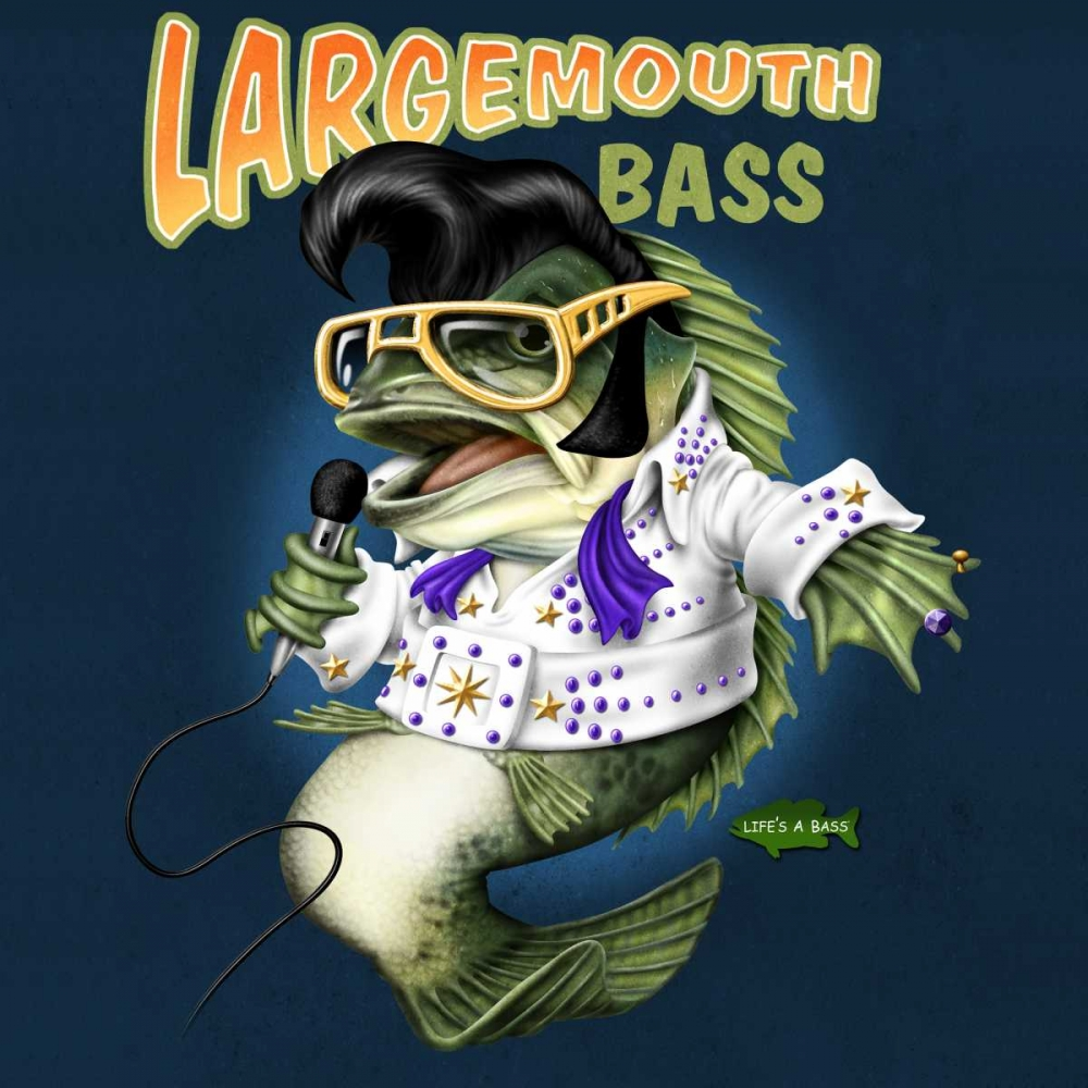 Largemouth Bass Baldwin, Jim 41293