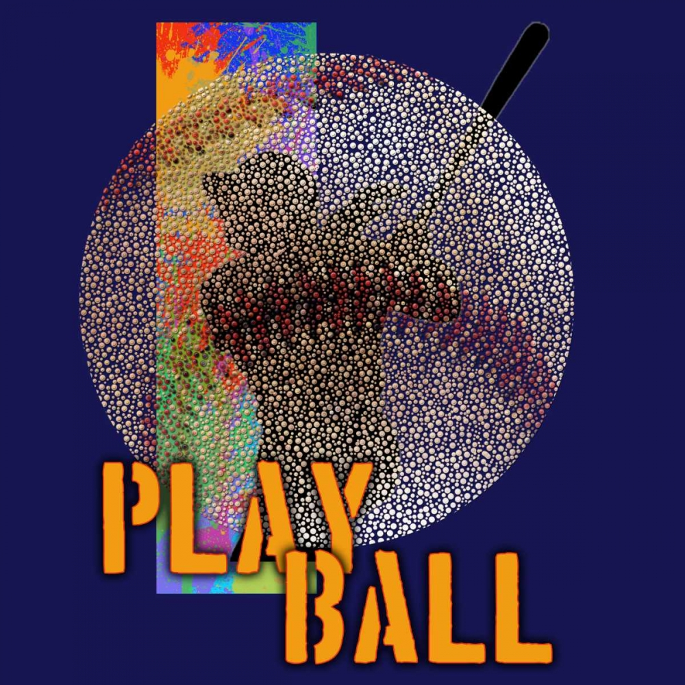 Play Baseball - Blue Baldwin, Jim 41308