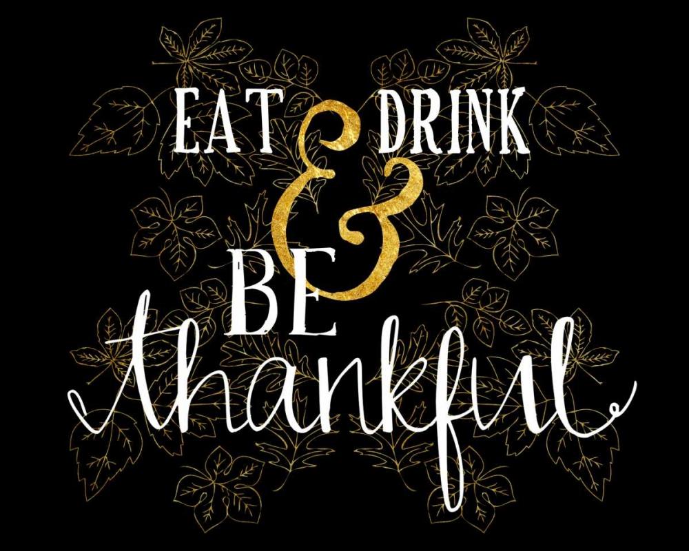 Eat, Drink, Be Thankful Cummings, Amy 140840
