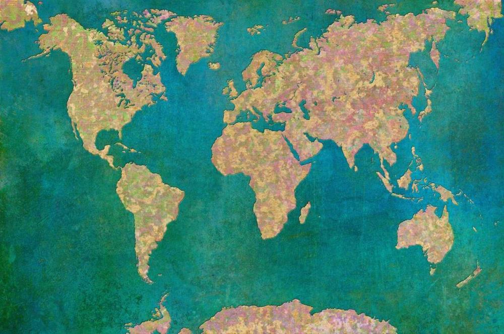 World Map II Niele, Cora 104748