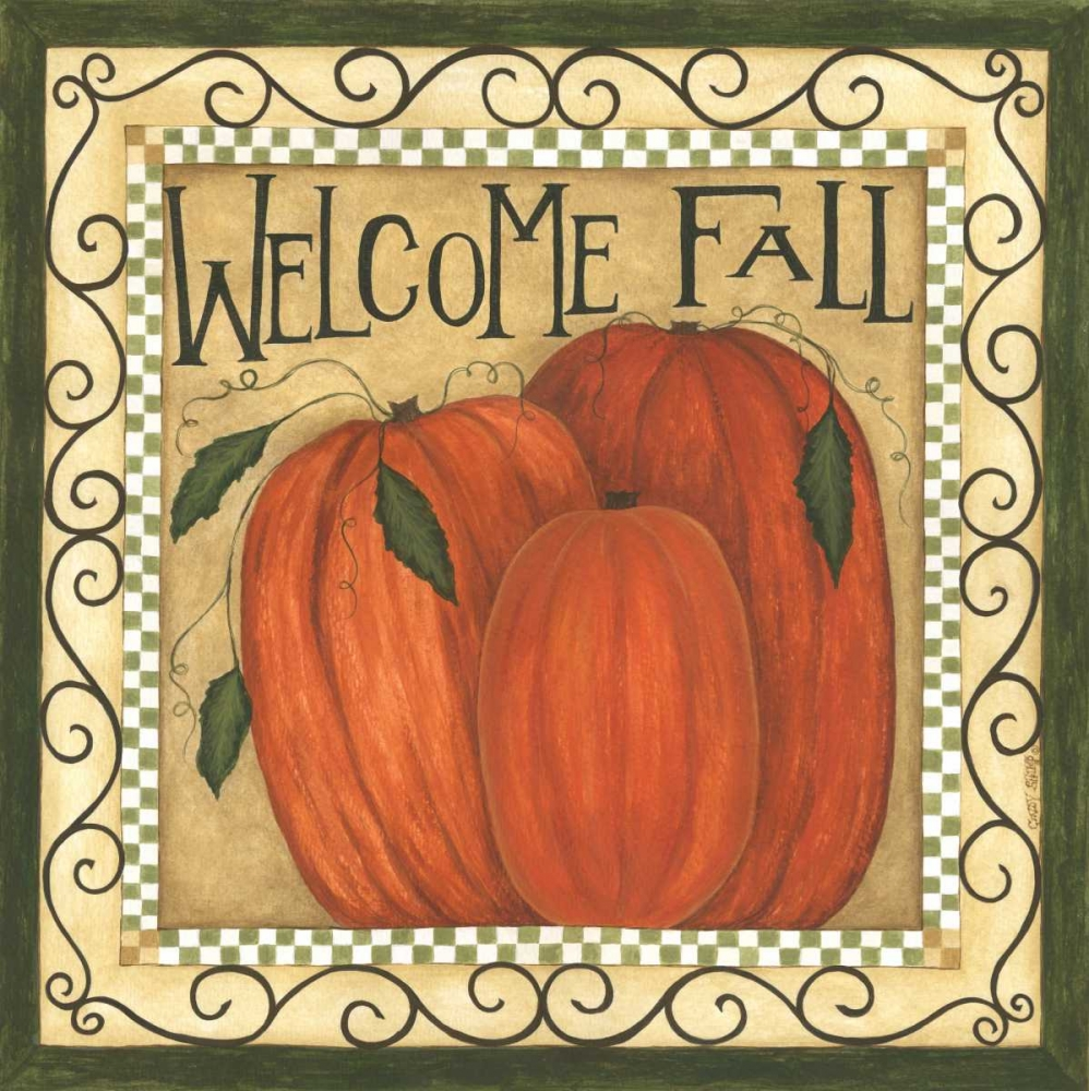 Welcome Fall Shamp, Cindy 66566