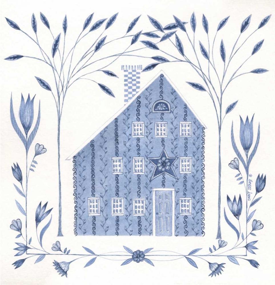 Country Blue House III Shamp, Cindy 104774