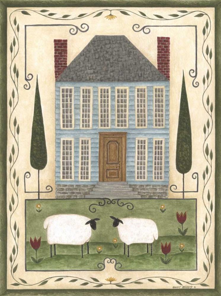 Blue House Shamp, Cindy 119738