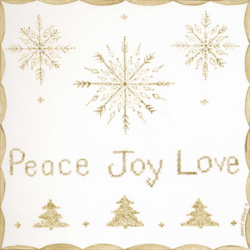 Peace, Joy, Love Shamp, Cindy 156421
