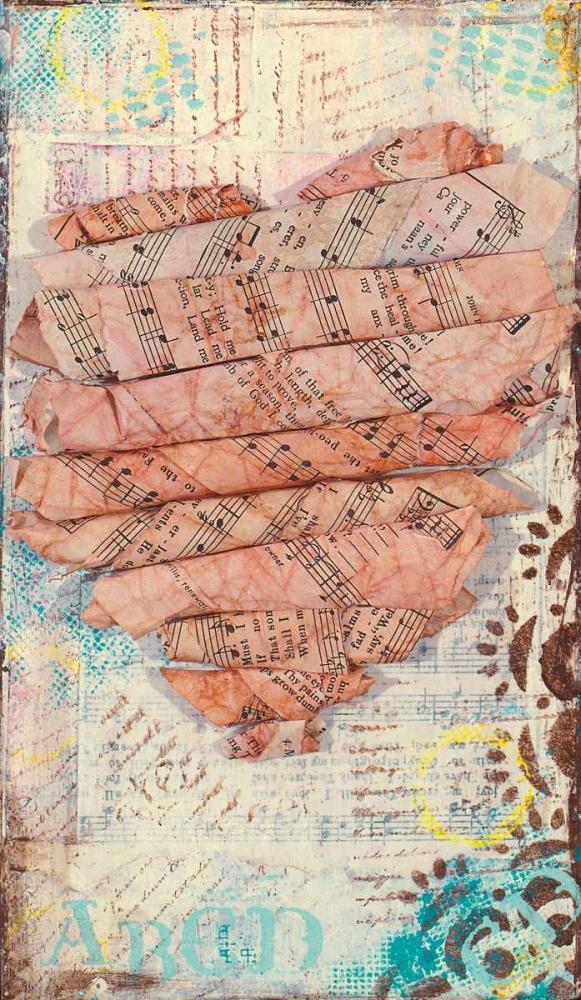 Pink Heart Cushman, Cassandra 41382