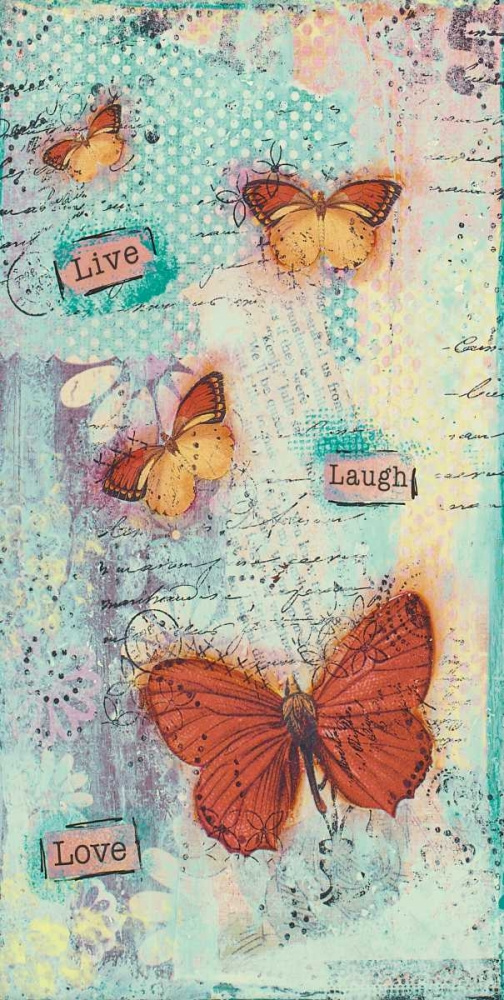Live-Laugh-Love Cushman, Cassandra 41399
